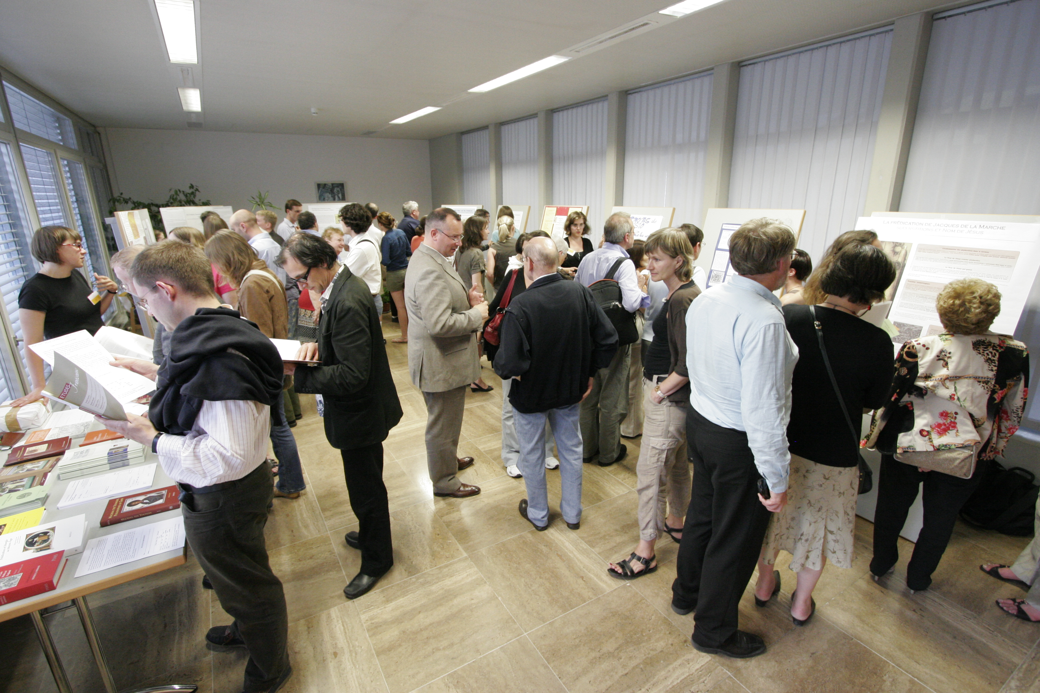 Poster Session, Saint-Maurice 2008